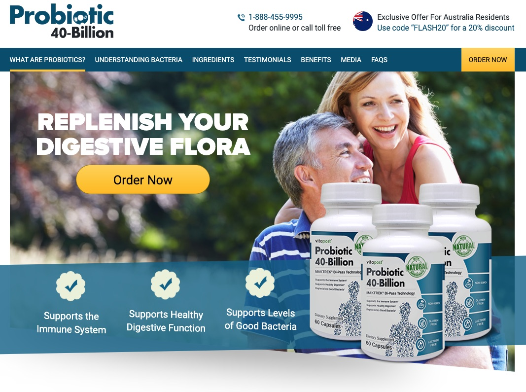 Probiotic 40-Billion in United Kingdom